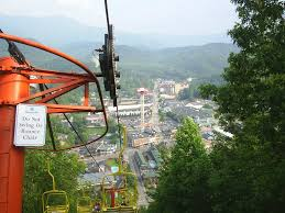 Gatlinburg Chair Lift New by National Park Great Smoky Mountains Pictureicon