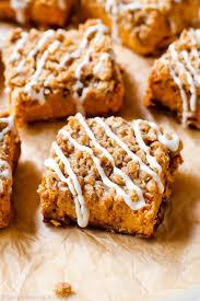 Gingersnap Pumpkin Pie Crust by Pumpkin Streusel Bars Sallys Baking Addiction