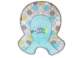 Fisher Price SpaceSaver High Chair - Replacement Pad DRF69 - Ele ... Amazoncom Fisher Price Spacesaver High Chair Replacement Bck62 Indoor Chairs Girls Space Saver Fisherprice Rainforest Friends Ipirations Car Seat Straps Chicco Cover Pad Gray Covers Dlg99 Padcushion For Polly Uk Elegant Premium Handmade And Stylish Replacement High Chair Covers 4in1 Total Clean