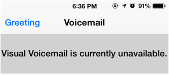 How to Fix Visual Voicemail Currently Unavailable Error on iPhone