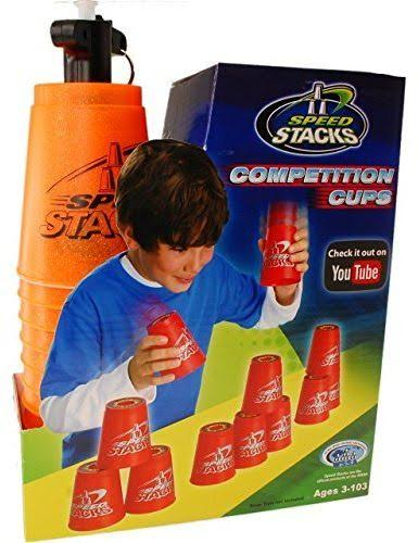 Speed Stacks Stacking Competition Cups - Orange