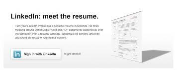 How To Convert Linkedin Profile As Resume Cv