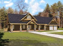 Indian Pass Rustic Home Plan 088D 0339