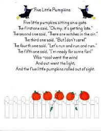 Poems About Halloween That Rhymes by Best 25 Pumpkin Poem Ideas On Pinterest Halloween Songs
