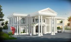 100 Bungalow Design India Render Rajkot 3D Power