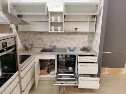 musterküche winkelküche l form gerda weiss hochglanz beton