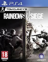 siege de jeux tom clancy s rainbow six siege import ps4 jeux import