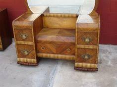 Waterfall Vanity Dresser Set by Want So Bad Art Deco 1930 U0027s Waterfall Bedroom Set Vanity W