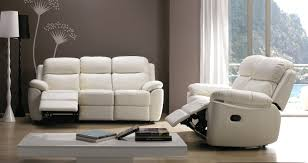 canape relax cuir blanc canape canape relax cuir electrique but pu blanc 3 places canape