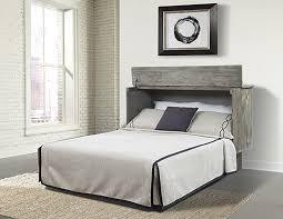 Pyper Marketing LLC Bristol Queen Storage Murphy Bed with Mattress
