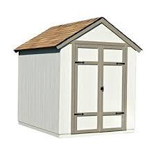 amazon com sherwood 6 ft x 8 ft wood shed kit with floor frame