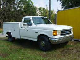 100 Ford F250 Utility Truck Photo 2 Equipment For Sale