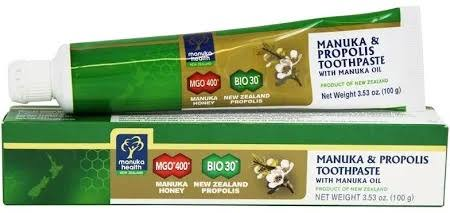 Manuka Health Manuka Honey & Propolis Toothpaste - 3.53 oz tube