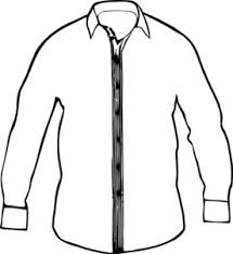 sweater clipart white collared shirt md