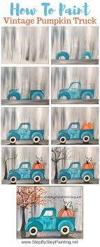 100 How To Paint A Truck Vintage Pumpkin Step By Step Ing