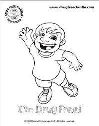 Drug Free Coloring Pages Printable