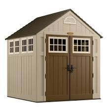 Rubbermaid Vertical Shed Home Depot by Outdoor Awesome Suncast Design For Your Garden And Storage Houses