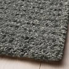 langsted teppich kurzflor hellgrau 60x90 cm