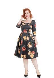 3 4 Sleeve Vintage Inspired Dress