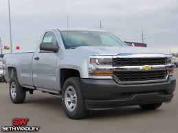 2018 Chevy Silverado 1500 Work Truck RWD Truck For Sale In Ada OK ...
