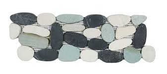 Sliced Pebble Tiles Uk by Sliced Pebble Tile Border 28 Images Sliced Sea Green Pebble