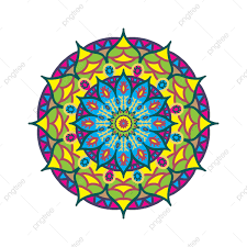 Mandala Flower Pattern Mandala Flor Patrón PNG Y Vector