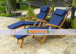 Teak Steamer Chairs Cushions by Cushion Furniture Manufacturer Indonesia Pillow Manufacturer