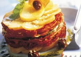 recette cuisine été millefeuille de pommes de terre aux parfums d été recettes de