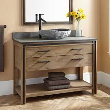 Bathroom Vanity With Drawers On Left Side by 48