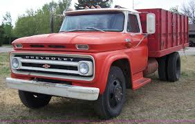 100 60 Chevy Truck For Sale 1965 Chevrolet Grain Truck Item 7377 SOLD Wednesday