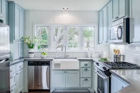 light blue kitchen walls kitchen traditional with white beadboard
