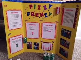 Elementary Science Fair Display Board