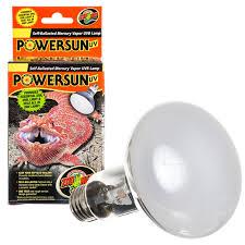 Uvb Lamp Vitamin D3 by Zoo Med Zoo Med Powersun Uv Mercury Vapor Uvb Lamp Reptile Mercury