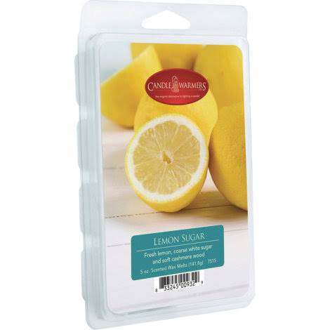 Candle Warmers Lemon Sugar Wax Melt - 5 oz.