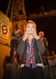 Universal Halloween Horror Nights 2014 Hollywood by Olivia Holt At Halloween Horror Nights 2014 In Universal City