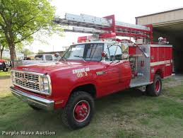 1980 Dodge Ram Power Wagon 400 Pierce Mini Pumper Fire Truck...