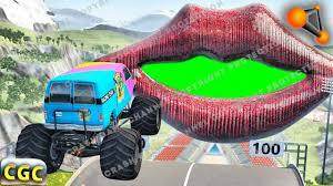 High Speed Jumps And Crashes Into Huge Lips And Mouth (Ramp And ... Insane Real Life Monster Truck Crash Youtube Monster Truck Destruction Iphone Ipad Gameplay Video Trucks Crashes Youtube Crazy New Pig Road Repair Vehicles Episode 140 Beamngdrive Stunts Jumps Crashes Crushing Cars Nissan Leaf Crash Test With Monster Truck Train Vs Crash 200 Gta V Rc Corvette Vs Smash Up Toy Cars Zoltan Bathory