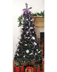 Black Pre Lit Pop Up Christmas Tree by Pop Up Christmas Trees 6ft Pre Lit White Holly Pop Up Christmas
