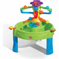 Step2 Rain Showers Splash Pond by Step2 Busy Ball Play Table Ten Balls And Scoop Included Walmart Com