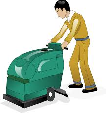 Floor Buffer Maintenance by On Target Maintenance Commercial Floor Cleaning Services On Target