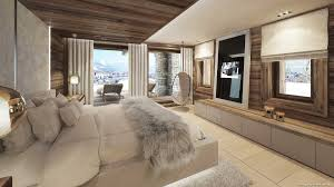 chalet chambre agence perspective 3d projet luxe chalet montagne