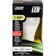 feit electric a50 150 ledg2 50 100 150w equivalent 3 way led