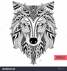 Baby Wolf Coloring Pages Animal Of For Adults Traficboosterbiz