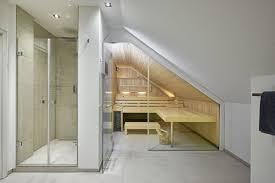 ein perfektes ensemble die sauna im badezimmer