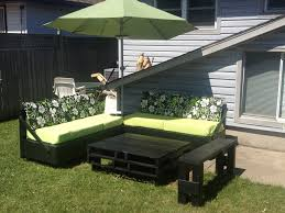 Black Pallet Patio Furniture Teak Wood Material Green Outdoor For The Most Brilliant And Also Attractive Pertaining To Property