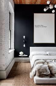 75 schlafzimmer mit schwarzer wandfarbe ideen bilder