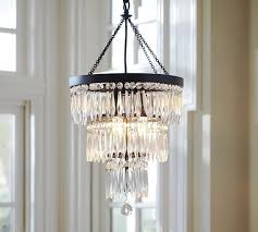 Dalila Beaded Crystal Chandelier Pottery Barn For Awesome