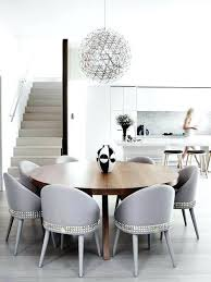 Interior Houzz Dining Chairs Round Back Room Curved Perfect Precious 5
