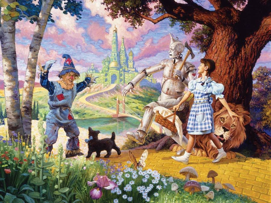 Cobble Hill the Wizard of Oz Jigsaw Puzzle - 350pcs