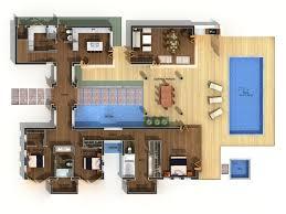 Building Floor Plan Colors 2d Marketing Floor Plans Architectural Visualization Key Vision